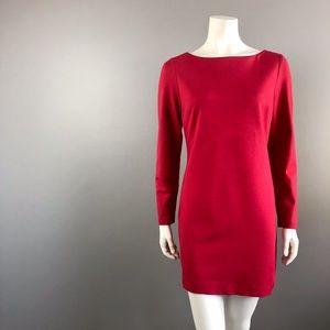 Trina Turk Red Shift Dress